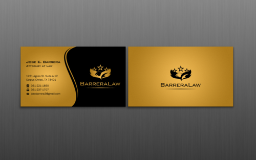 J. Barrera Law  Business Cards and Stationery  Draft # 116 by einsanimation