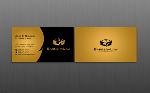 J. Barrera Law  Business Cards and Stationery  Draft # 118 by einsanimation
