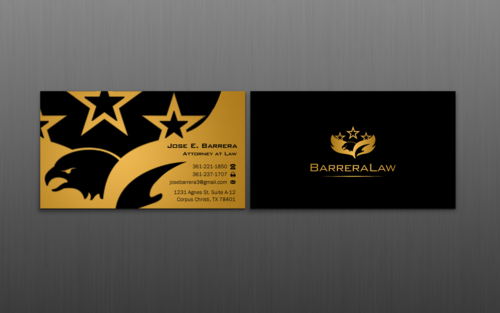 J. Barrera Law  Business Cards and Stationery  Draft # 117 by einsanimation