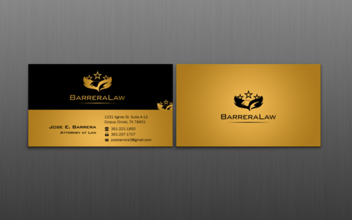 J. Barrera Law  Business Cards and Stationery  Draft # 119 by einsanimation