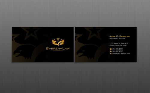 J. Barrera Law  Business Cards and Stationery  Draft # 120 by einsanimation