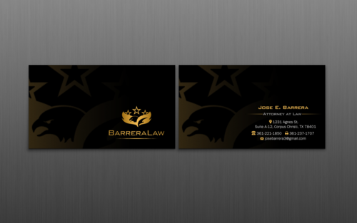 J. Barrera Law  Business Cards and Stationery  Draft # 121 by einsanimation