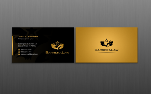 J. Barrera Law  Business Cards and Stationery  Draft # 122 by einsanimation