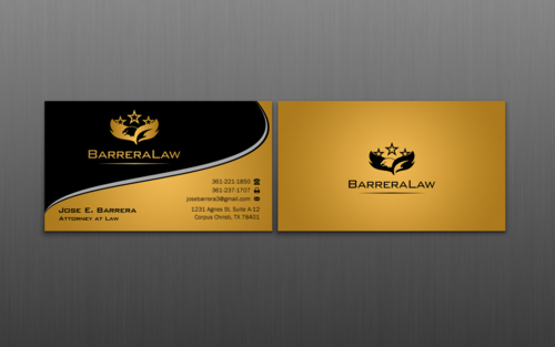 J. Barrera Law  Business Cards and Stationery  Draft # 124 by einsanimation