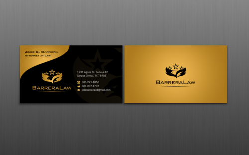 J. Barrera Law  Business Cards and Stationery  Draft # 123 by einsanimation