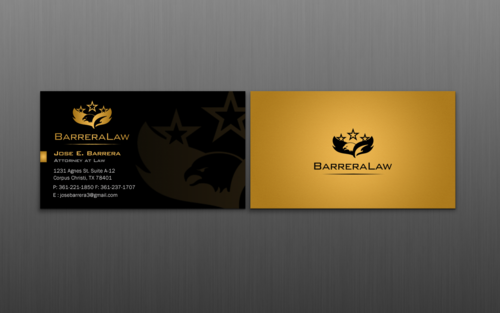 J. Barrera Law  Business Cards and Stationery  Draft # 125 by einsanimation