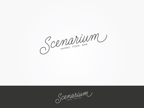 Scenarium  Logo Winning Design by MasterDesign