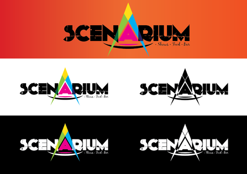 Scenarium  A Logo, Monogram, or Icon  Draft # 468 by KenArrok