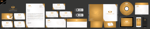 J. Barrera Law  Business Cards and Stationery Winning Design by einsanimation