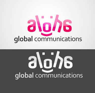 Aloha Global Communications A Logo, Monogram, or Icon  Draft # 4 by Zohair