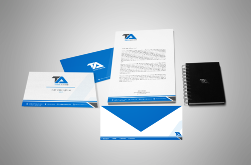 Tareek Alnojoom Business Cards and Stationery  Draft # 409 by Aaask