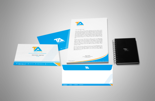 Tareek Alnojoom Business Cards and Stationery  Draft # 410 by Aaask