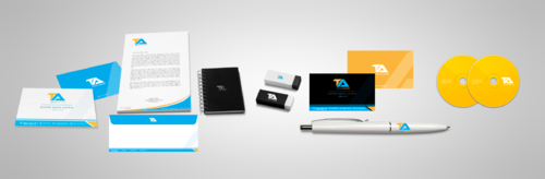 Tareek Alnojoom Business Cards and Stationery  Draft # 412 by Aaask