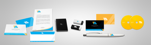Tareek Alnojoom Business Cards and Stationery  Draft # 432 by Aaask