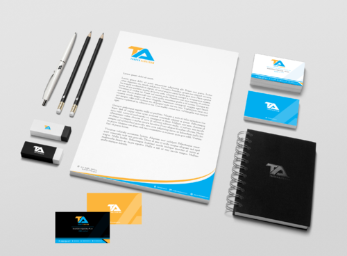 Tareek Alnojoom Business Cards and Stationery  Draft # 454 by Aaask