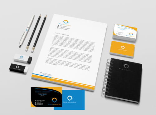 Rowad Alhadatha Business Cards and Stationery  Draft # 105 by Aaask