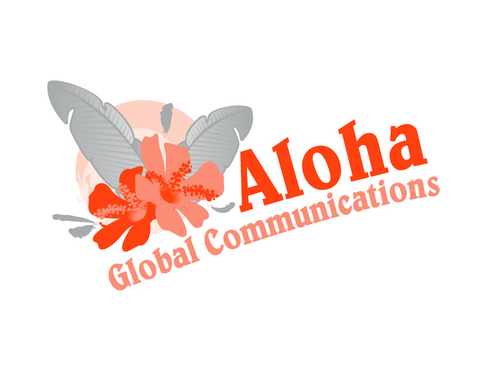 Aloha Global Communications A Logo, Monogram, or Icon  Draft # 8 by vector