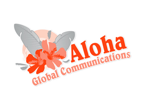 Aloha Global Communications A Logo, Monogram, or Icon  Draft # 9 by vector