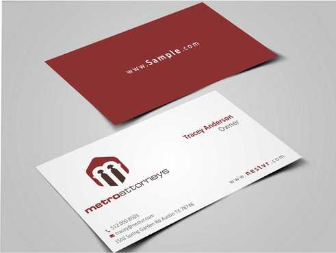 metroattorneys Business Cards and Stationery  Draft # 289 by Dawson