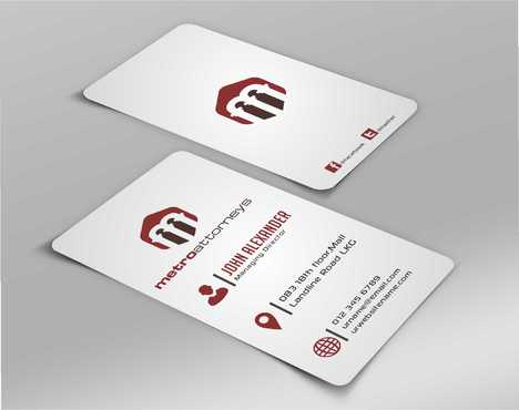 metroattorneys Business Cards and Stationery  Draft # 292 by Dawson