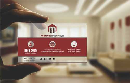 metroattorneys Business Cards and Stationery  Draft # 294 by Dawson