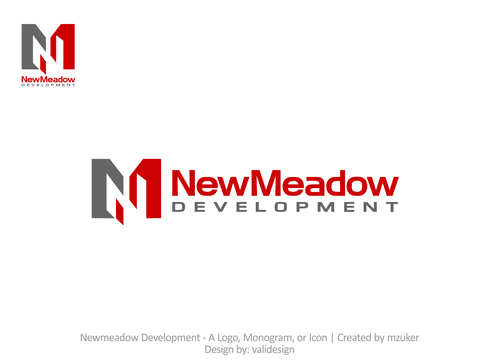 Newmeadow Development A Logo, Monogram, or Icon  Draft # 210 by validesign