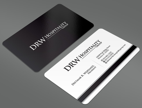 DRW Hospitality Group, LLC Business Cards and Stationery  Draft # 115 by ArtworksKingdom