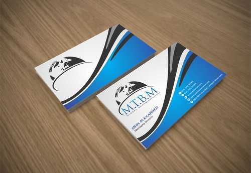 Business Card and Stationary for MTBM Global Rehabilitation Business Cards and Stationery  Draft # 145 by Dawson