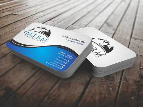 Business Card and Stationary for MTBM Global Rehabilitation Business Cards and Stationery  Draft # 147 by Dawson