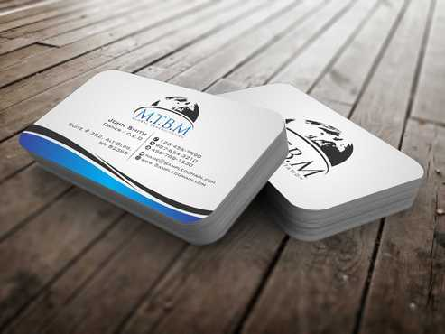 Business Card and Stationary for MTBM Global Rehabilitation Business Cards and Stationery  Draft # 150 by Dawson