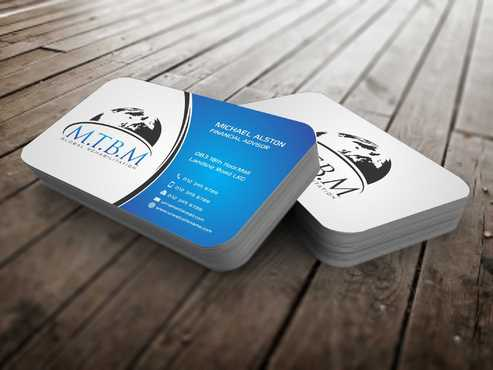 Business Card and Stationary for MTBM Global Rehabilitation Business Cards and Stationery  Draft # 157 by Dawson