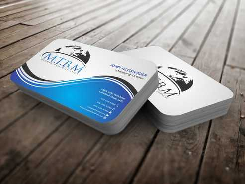 Business Card and Stationary for MTBM Global Rehabilitation Business Cards and Stationery  Draft # 163 by Dawson