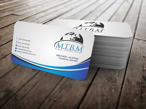 Business Card and Stationary for MTBM Global Rehabilitation Business Cards and Stationery  Draft # 174 by Dawson