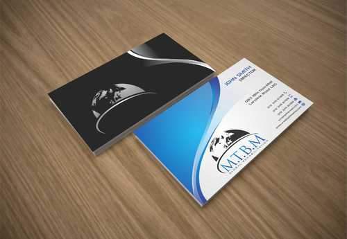 Business Card and Stationary for MTBM Global Rehabilitation Business Cards and Stationery  Draft # 176 by Dawson