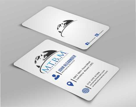Business Card and Stationary for MTBM Global Rehabilitation Business Cards and Stationery  Draft # 180 by Dawson
