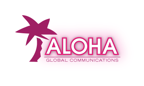 Aloha Global Communications A Logo, Monogram, or Icon  Draft # 15 by amariedesigns