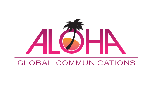 Aloha Global Communications A Logo, Monogram, or Icon  Draft # 16 by amariedesigns