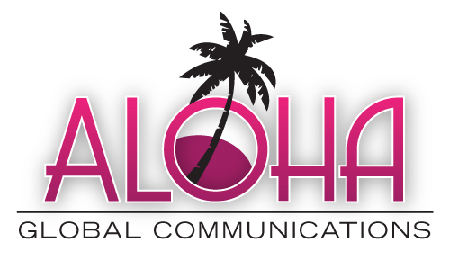 Aloha Global Communications A Logo, Monogram, or Icon  Draft # 17 by amariedesigns