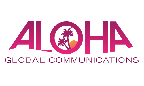 Aloha Global Communications A Logo, Monogram, or Icon  Draft # 18 by amariedesigns