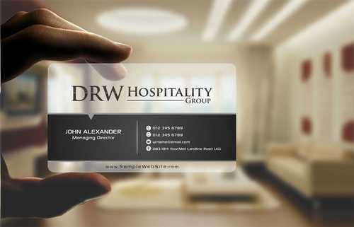 DRW Hospitality Group, LLC Business Cards and Stationery  Draft # 138 by Dawson