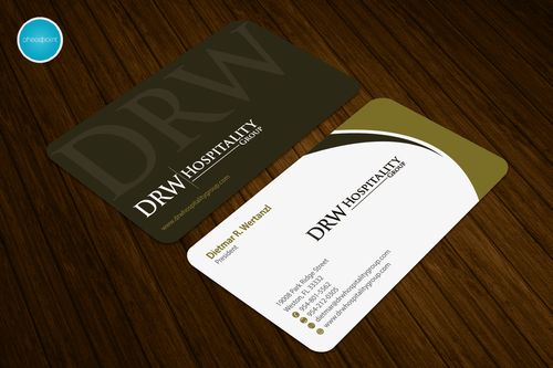 DRW Hospitality Group, LLC Business Cards and Stationery  Draft # 263 by aheadpoint
