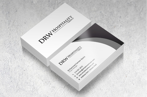 DRW Hospitality Group, LLC Business Cards and Stationery  Draft # 305 by GADesign1