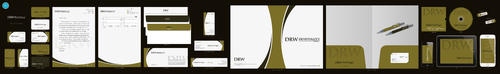 DRW Hospitality Group, LLC Business Cards and Stationery Winning Design by aheadpoint