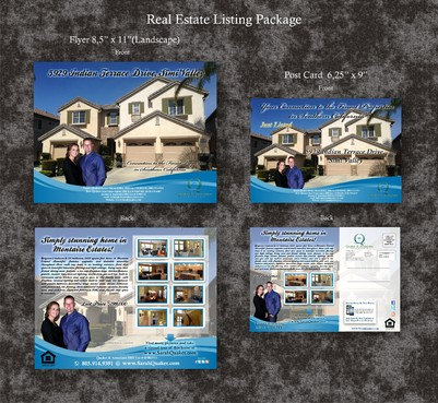 Listing flyer and brochure  Marketing collateral Winning Design by syukurkurnia