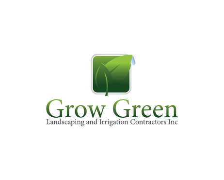 Grow Green Landscaping and Irrigation Contractors Inc A Logo, Monogram, or Icon  Draft # 14 by CuteCindy