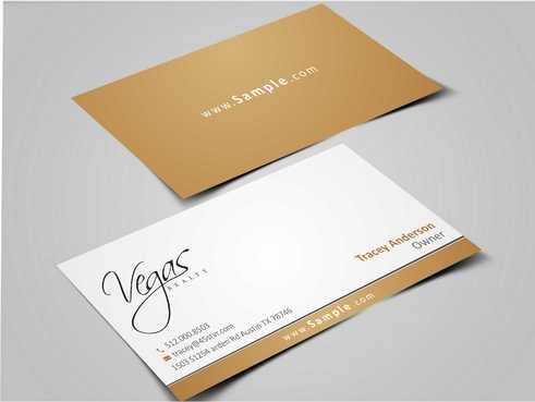 Vegas Realty  Business Cards and Stationery  Draft # 35 by Dawson