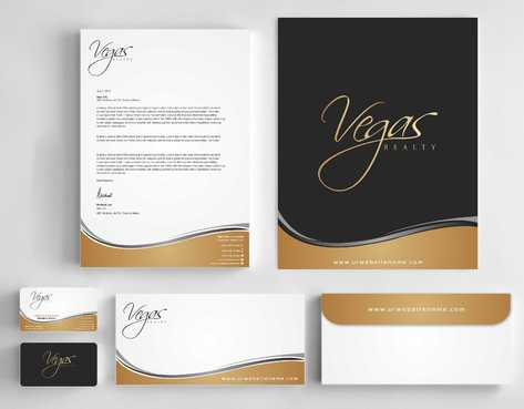 Vegas Realty  Business Cards and Stationery  Draft # 94 by Dawson