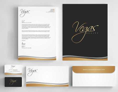 Vegas Realty  Business Cards and Stationery  Draft # 96 by Dawson