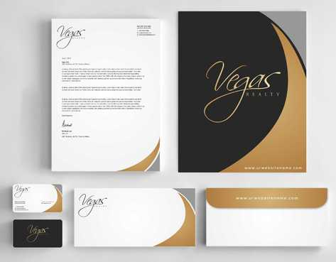 Vegas Realty  Business Cards and Stationery  Draft # 98 by Dawson