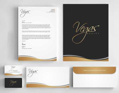 Vegas Realty  Business Cards and Stationery  Draft # 99 by Dawson